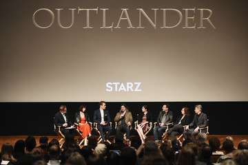 Ronald D. Moore Caitriona Balfe Starz Hosts 'Outlander' FYC Special Screening And Panel