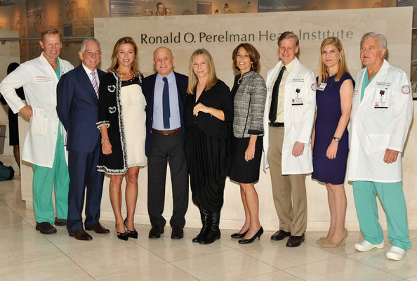 Barbra Streisand Visits The Ronald O. Perelman Heart Institute