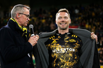 Ronan Keating Super Rugby Rd 16 - Hurricanes v Chiefs