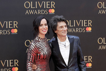 Ronnie Wood The Olivier Awards With Mastercard - Red Carpet Arrivals