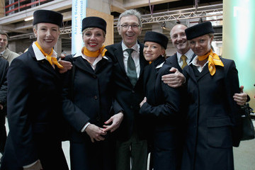 Wolfgang Mayrhuber Roofing Ceremony For BBI Airport