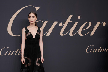 Rooney Mara The Maison Cartier Celebrates 100th Anniversary Of Their Emblem La Panthere De Cartier!