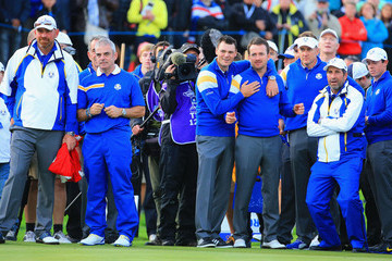 Rory McIlroy Graeme McDowell Singles Matches - 2014 Ryder Cup