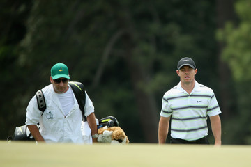 Rory McIlroy J-p Fitzgerald The Masters - Preview Day 1
