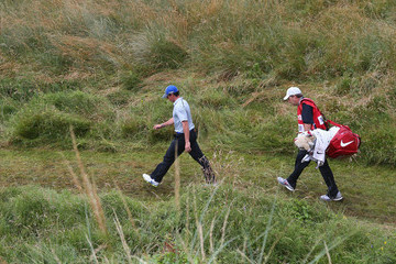 Rory McIlroy J-p Fitzgerald 143rd Open Championship - Day Three