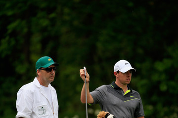 Rory McIlroy J-p Fitzgerald The Masters - Round Two