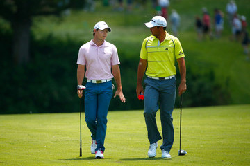Rory McIlroy Jason Day The Memorial Tournament presented by Nationwide Insurance - Round Three