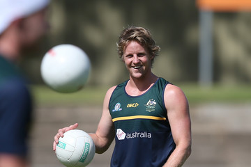 Rory Sloane Australia International Rules Series Training Session