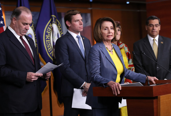 Pelosi And House Democrats Hold News Conference Discussing Republican Agenda