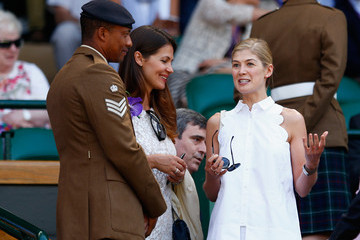 Rosamund Pike Day Twelve: The Championships - Wimbledon 2015