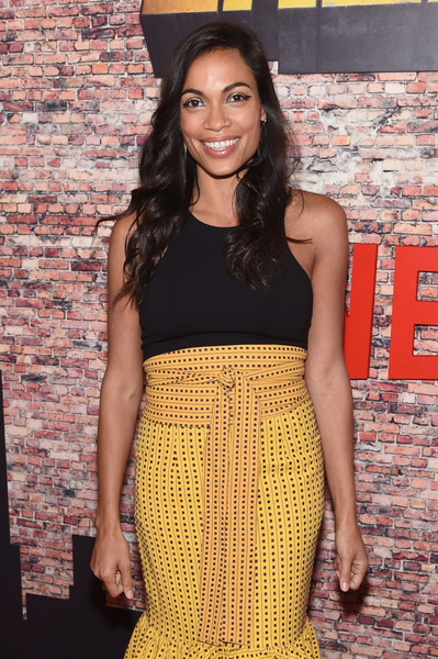 Remarkable, Rosario dawson see through agree, the