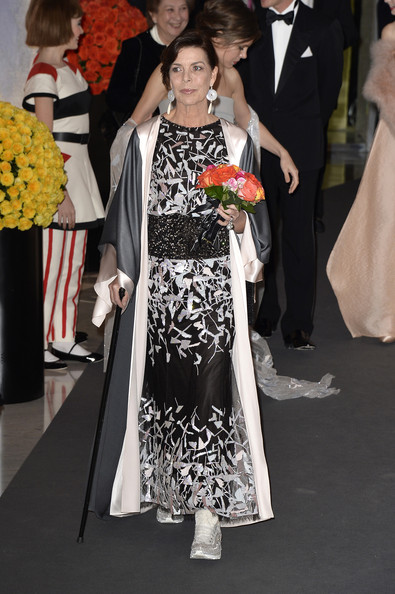 Princess Caroline of Hanover attends the Rose Ball 2014 in aid of the Princess Grace Foundation at Sporting Monte-Carlo on March 29, 2014 in Monte-Carlo, Monaco.