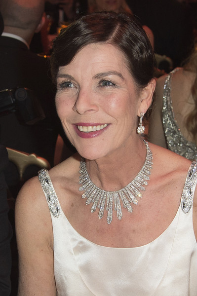 Princess Caroline of Hanover attends the Rose Ball 2015 in aid of the Princess Grace Foundation at Sporting Monte-Carlo on March 28, 2015 in Monte-Carlo, Monaco.