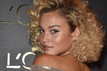 Rose Bertram Gold Obsession Party - L'Oreal Paris : Photocall - Paris Fashion Week Womenswear Spring/Summer 2017