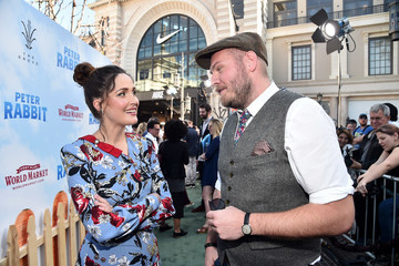 Rose Byrne Premiere of Columbia Pictures' 'Peter Rabbit' - Red Carpet