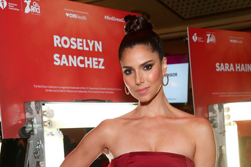 Roselyn Sanchez The American Heart Association's Go Red For Women Red Dress Collection 2020 - Backstage