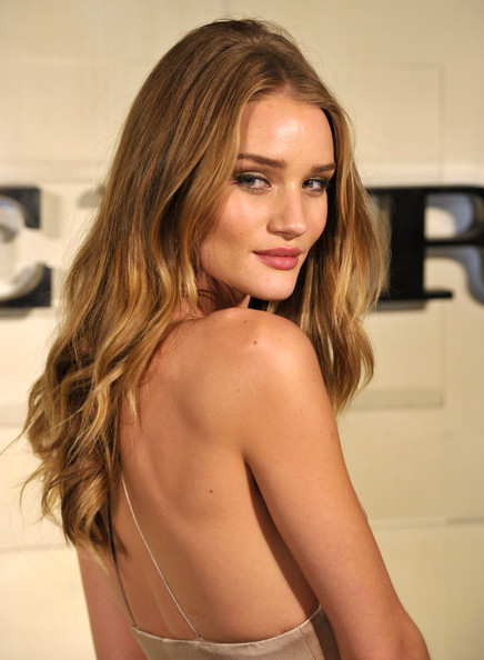 Burberry Body Launch - Rosie Huntington Whiteley