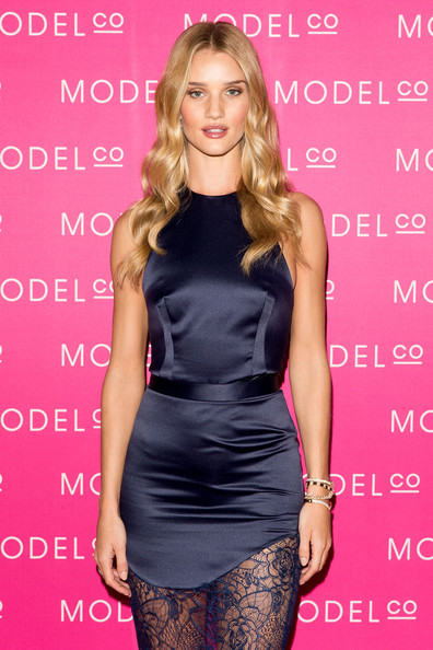 Rosie Huntington-Whiteley Launches a Skincare Collection [fashion model,clothing,dress,cocktail dress,shoulder,fashion,hairstyle,long hair,waist,blond,rosie huntington-whiteley,skincare collection,sydney,customs house,australia,modelco,rosie huntington-whiteley launches modelco natural skincare collection,launch]