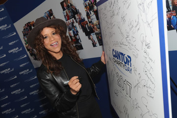 Rosie Perez Annual Charity Day Hosted By Cantor Fitzgerald, BGC and GFI - Cantor Fitzgerald Office - Arrivals