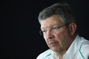 Ross Brawn F1 Grand Prix of India: Practice