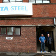 Ross Clark The First Minister Visits the Tata Steelworks in Lanarkshire