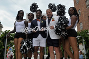 George Carrancho, Sean Franklin and The Prancing Elites at D.C. Capital Pride Parade For Marriott International's #LoveTravels Campaign on June 13, 2015 in Washington, DC.