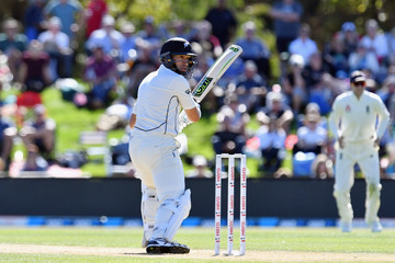 Ross Taylor New Zealand vs. England - 2nd Test: Day 2