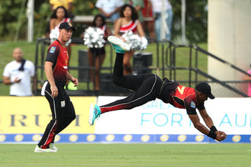 Ross Taylor Jamaica Tallawahs vs. Trinbago Knight Riders - 2018 Hero Caribbean Premier League (CPL) Tournament