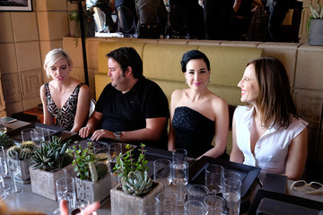 Rosson Crow M.A.C Cosmetics with Zac Posen Luncheon at the Ennis House