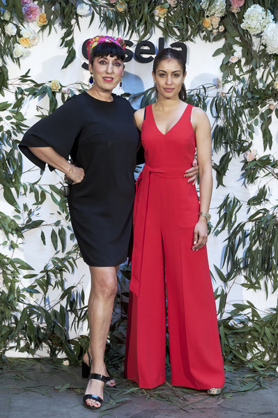 Rossy de Palma And Hiba Habouk Present 'Comment tu t'appelles' [comment,cinema,clothing,dress,red,fashion,fashion model,pink,formal wear,event,haute couture,fashion design,rossy de palma,hiba habouk present,actresses,hiba abouk,r,spanish,sala equis,l]