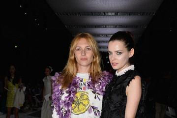 Roxane Mesquida Giambattista Valli : Front Row - Paris Fashion Week - Haute Couture Fall/Winter 2015/2016