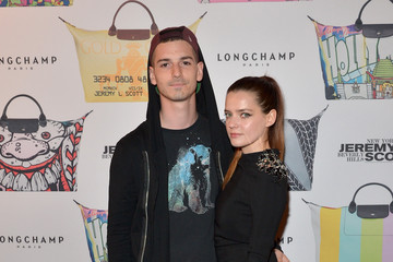 Roxane Mesquida Jeremy Scott for Longchamp 10th Anniversary