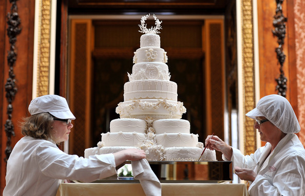 More Prince William Kate Middleton Royal Wedding Cakes Pictures Gallery