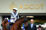 Ryan Moore on Circus Maximus comes out onto the track ahead of his win in The St James's Palace Stakes during day one of Royal Ascot at Ascot Racecourse on June 18, 2019 in Ascot, England.