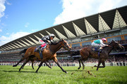 Frankie Dettori riding Twist 'n' Shake in action in The Coronation Stakes on day four of Royal Ascot at Ascot Racecourse on June 21, 2019 in Ascot, England.