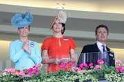 Sophie, Countess of Wessex, Crown Princess Mary of Denmark and Crown Prince Frederik of Denmark attend the second day of Royal Ascot at Ascot Racecourse  on June 15, 2016 in Ascot, England.