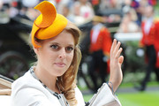 Princess Beatrice attends Day 3 of Royal Ascot at Ascot Racecourse on June 19, 2014 in Ascot, England.