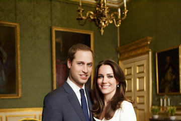 Kate+Middleton in Royal Engagement Portrait