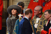 Prince William, Duke of Cambridge and Catherine, Duchess of Cambridge attend the annual Commonwealth Day service on Commonwealth Day on March 14, 2016 in Westminster Abbey, London. The service is the largest annual inter-faith gathering in the UK.