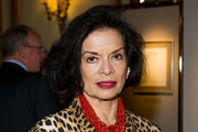 (EXCLUSIVE COVERAGE) Bianca Jagger attends the Royal Photography Exhibition at The Ritz London on April 19, 2012 in London, England.
