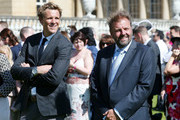 (L-R) James Cracknell and Martin Roberts during the Royal Society for the Prevention of Accidents (RoSPA) Centenary Garden Party on May 25, 2017 at Buckingham Palace, London.