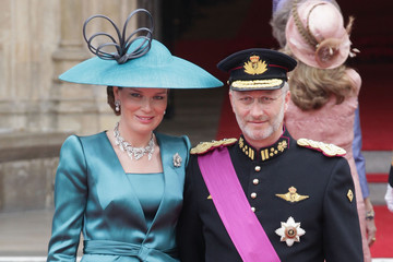 Crown Prince Philippe of Belgium Royal Wedding Arrivals