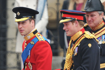 Prince Harry of Wales Royal Wedding Arrivals