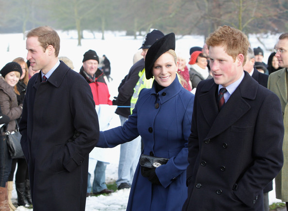 Prince William in Royals Attend Christmas Day Service At ...