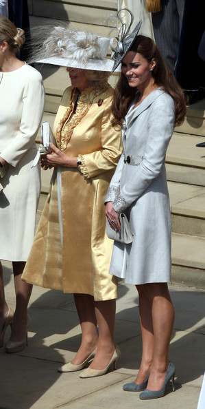 Royals Attend The Order Of The Garter Service