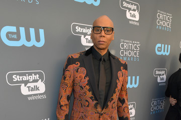 RuPaul The 23rd Annual Critics' Choice Awards - Red Carpet