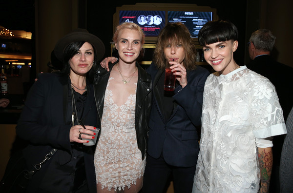 Katherine Moennig and ruby rose