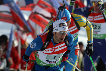 Vincent Defrasne Ruhrgas IBU Biathlon World Cup - Men's Day 3