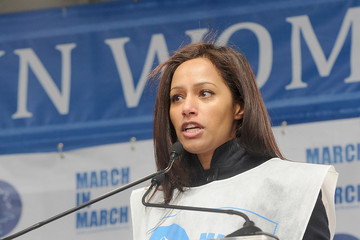 Rula Jebreal 'March in March' to End Violence Against Women Event