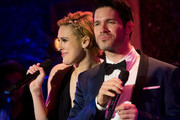 (L-R) Rumer Willis and Tye Blue perform in concert at 54 Below on November 4, 2015 in New York City.